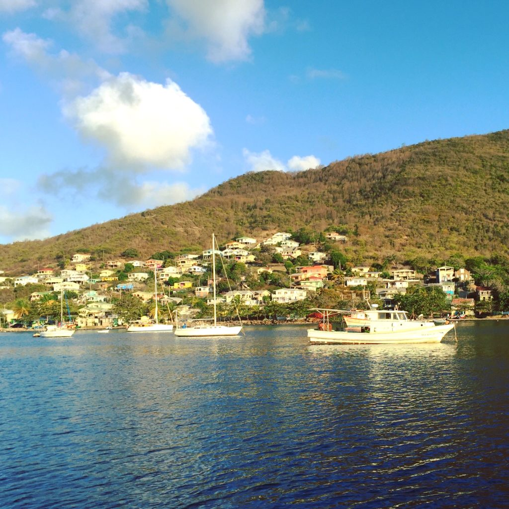 Morning on Bequia