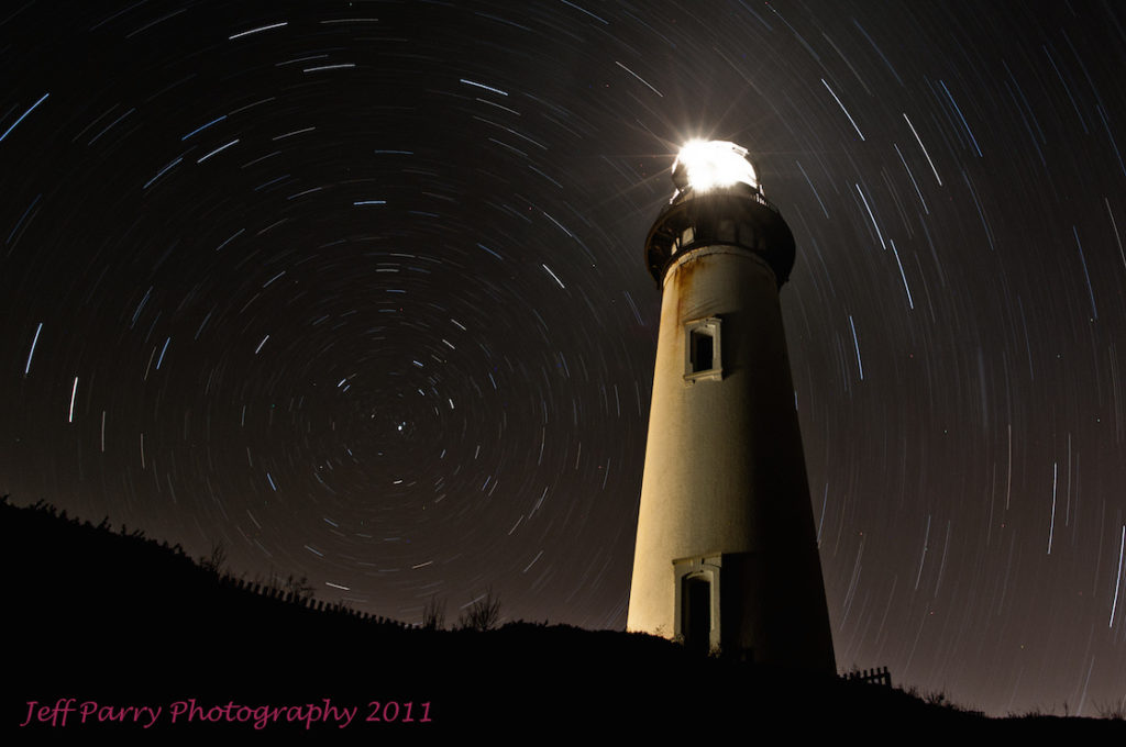 Night photography Lighthouse