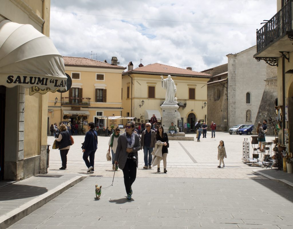 Piazza in Norcia