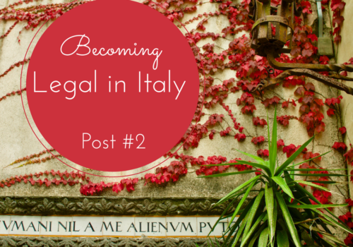 expat in Italy