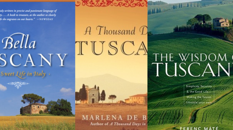 Memoirs about Italy (And the marketing phenomenon of the word Tuscan)